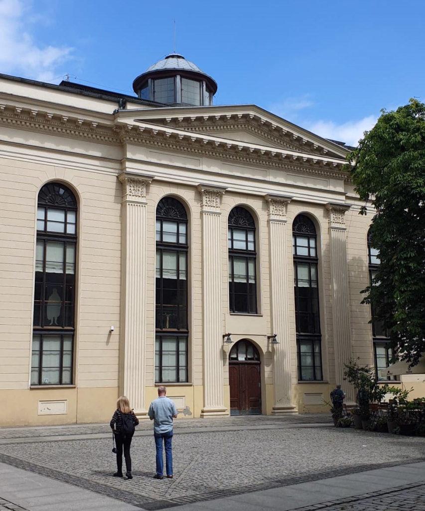 Le musée de Wroclau, Pologne.