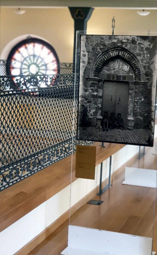 Étage du musée-synagogue.