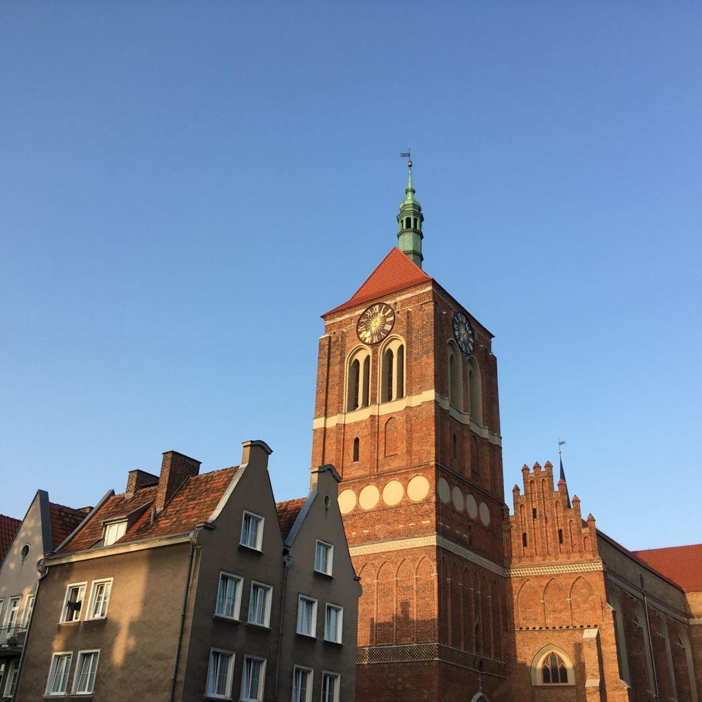 L'église Saint-Jean de Gdansk.